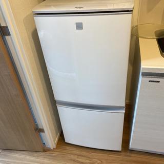 【ネット決済】【2019年製シャープ】 冷凍冷蔵庫137ℓ SJ...