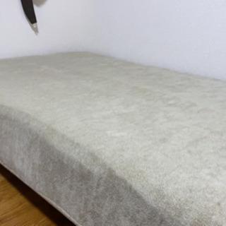 【ネット決済】マットレス付きベッド