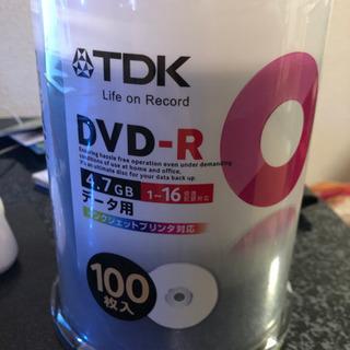 【ネット決済】TDK DVD-R データ用 1-16倍速対応 未...