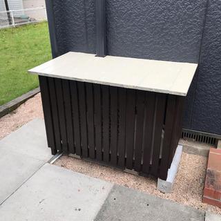 【ネット決済】手作り エアコンの室外機カバー