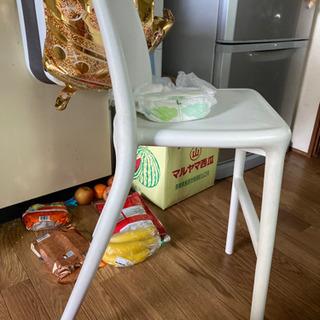 IKEA子供用チェア 白