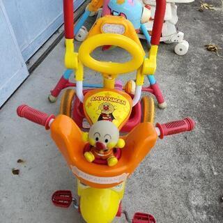 自転車とおもちゃ