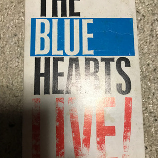 【ネット決済】THE BLUEHEARTS LIVEビデオ