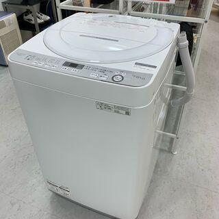 SHARP 全自動洗濯機 ES-GE7D 2020年製