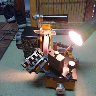 ドリル研削機。  ドルケン(DL-3)