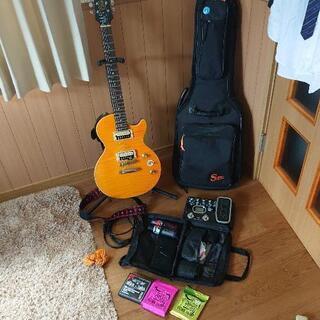 【ネット決済】ギターオールセット マルチエフェクター付き おまけ...