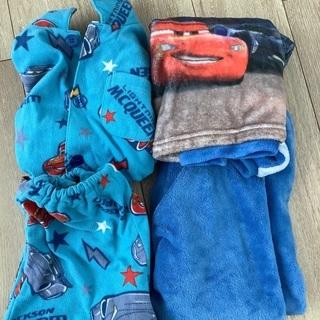 カーズのパジャマ120センチ2点セット