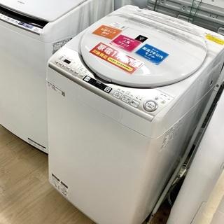 1年保証付!SHARP(シャープ)の縦型洗濯乾燥機 ES-TX8...