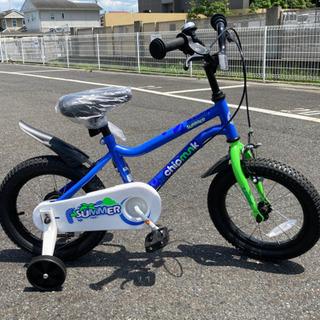 Chipmunk14インチ幼児用自転車 新品 傷