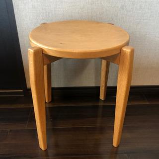 手作り天然木 スツール(購入価格1万円)