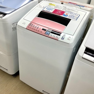 6ヵ月保証付!HITACHI(日立)の縦型洗濯乾燥機 BW-D7...