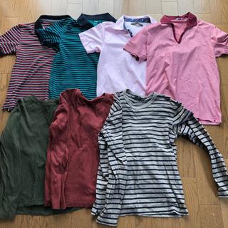 ポロシャツ、長袖シャツ