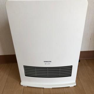 山善 セラミックファンヒーター暖房器具DF−J121(W)
