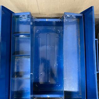 【ネット決済】0617003 工具入れ 青色