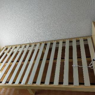 【ネット決済】すのこシングルベッド