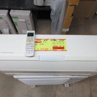 K02346 富士通 中古エアコン 主に6畳用 冷2.2kw/暖...
