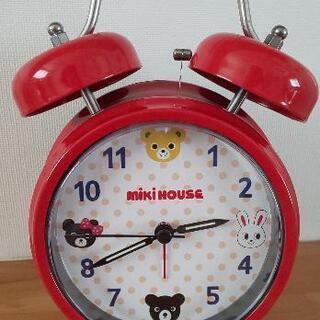 ミキハウス 目覚まし時計