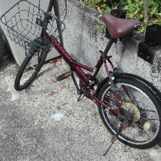 お取り引き中。折り畳み自転車ギア付き