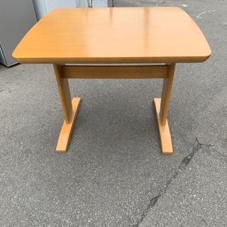 ダイニングテーブル 天然木 2人用