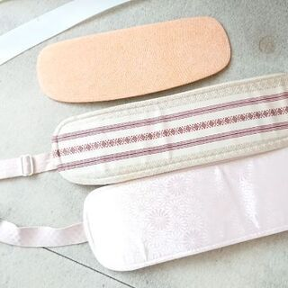 着物の襟芯、帯板