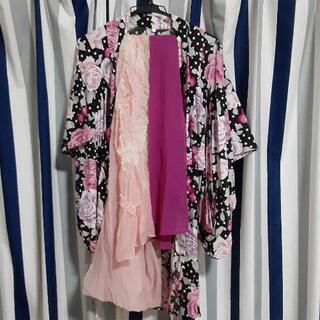 女児浴衣🦛サイズ 120‼️300円‼️