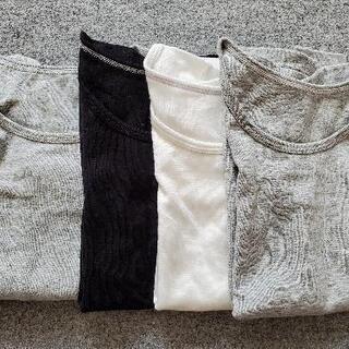 UNIQLO インナーTシャツ 4枚セット 100cm