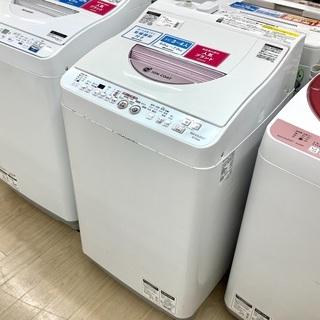 6ヵ月保証付!SHARP(シャープ)の縦型洗濯乾燥機 ES-TG...