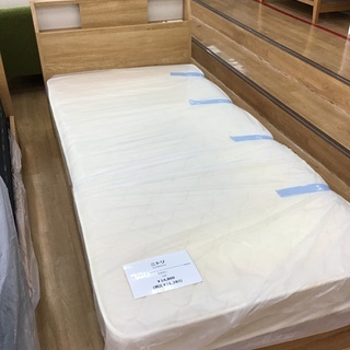 【取りに来れる方限定】ニトリのシングルベッド。