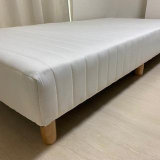 【ネット決済】LOWYA 脚付き マットレス シングル ベッド
