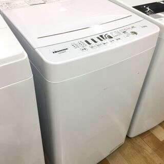 安心の6ヶ月保証付き!Hisense洗濯機【トレファク岸和田】