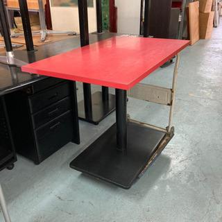 テーブル☆87123デコラ100×600しっかりした脚が付いてます。