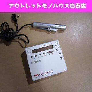 動作未確認 SONY ポータブルMDレコーダー MZ-R900 ...