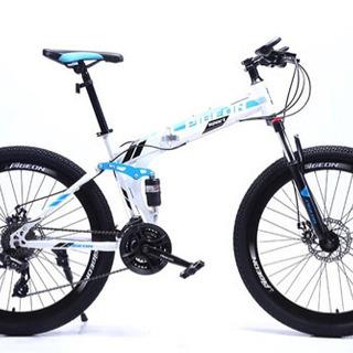 【ネット決済】(美品)折りたたみ式スポーツ自転車22000円