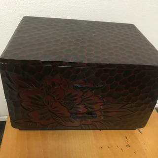 木箱 1-114 アンティーク2段BOX