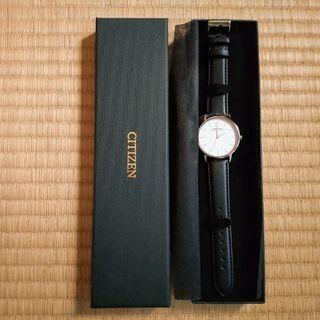 【未使用】CITIZEN   アナログ腕時計
