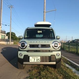 【ネット決済】函館 ハスラー 4WD ハイブリッドXターボ  カ...