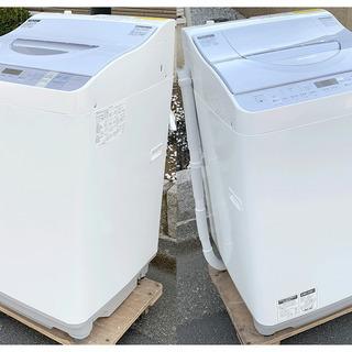 (7600)美品】SHARP/シャープ 洗濯乾燥機 穴なし洗濯槽...