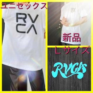 ユニセックス RVCA ルーカ ロゴ tシャツ 半袖L