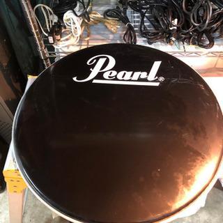 Pearlバスドラ22インチ表面ヘッド