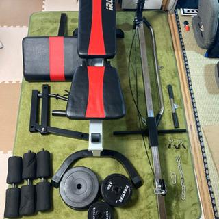 アイロテック マルチポジションベンチ+専用ラット