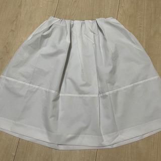 ナノユニバース 白 スカート レディース Sサイズ