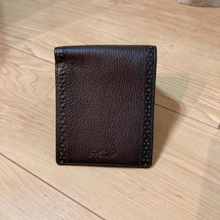 【ネット決済・配送可】【値下げ】クロコダイル 折り畳み財布