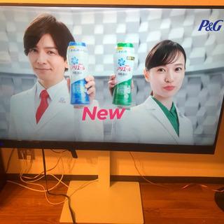 値下げ!!58インチ テレビ 19年式 大型テレビ