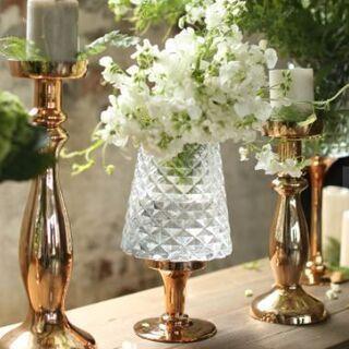限定出品/ガラスベース/花瓶/花器