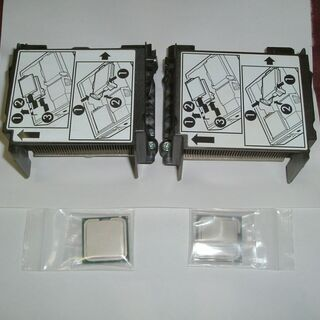 x2個 DELL OptiPlex 745 CPUクーラー・イン...