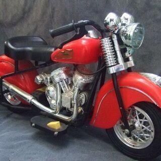 オブジェにどうぞ インディアン風 ミニ電動バイク 現状品 …