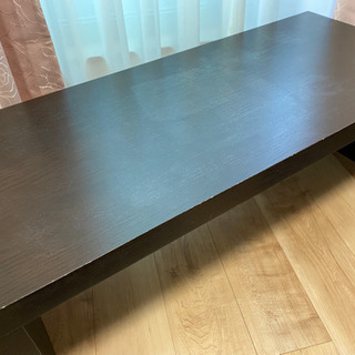 差し上げます。ローテーブル。