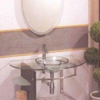 【アウトレット・引取限定】アポロ社 鏡付き洗面台 B-1042 ...