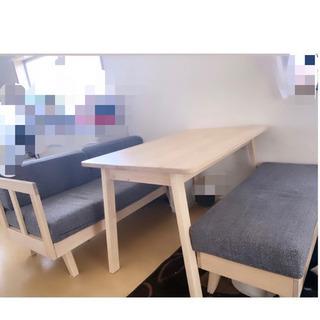 IKEA ソファダイニングセット バラ売り可能