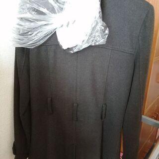 【無料】冬物コート 黒 ブラック